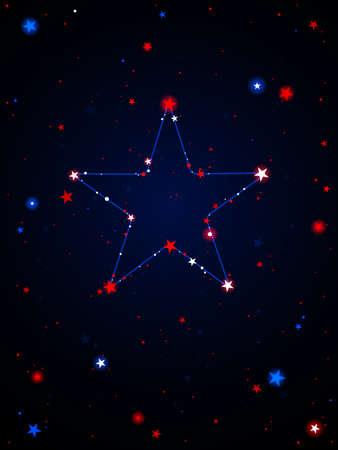 USA constellation Stock Vector - 9648572