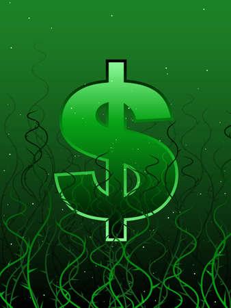 Tangled economy Stock Vector - 10282449