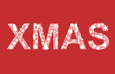 nutcracker: XMAS in holiday silhouettes Illustration
