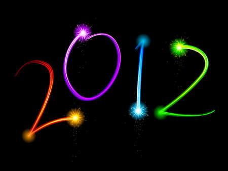 light streaks: Light streak 2012