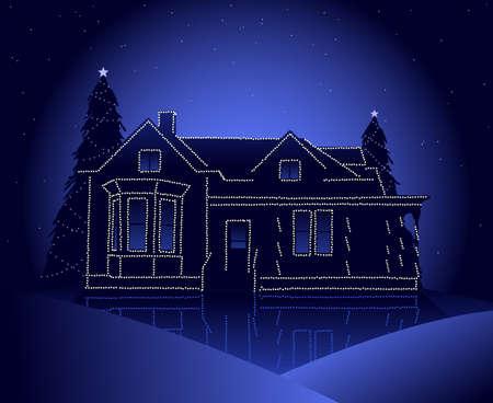 homes: Christmas house