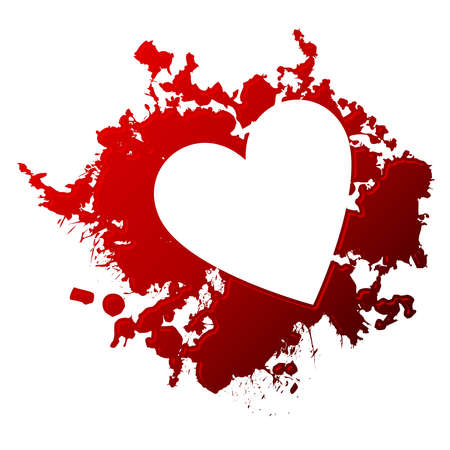 Bloody love Stock Vector - 12489488