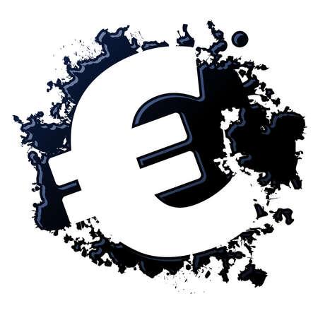 Oil Euro Stock Vector - 12489484