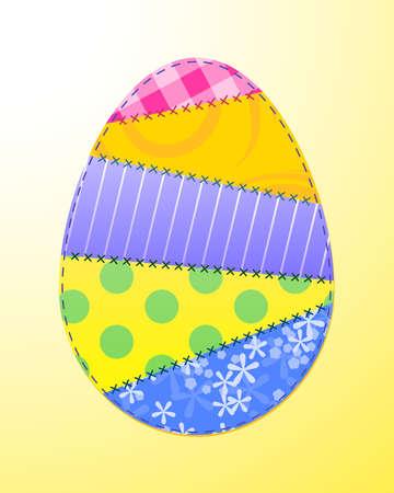 Fabris Easter egg Stock Vector - 12498158