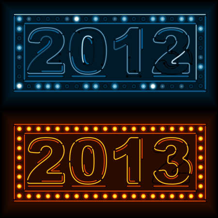 Neon New Year s Eve