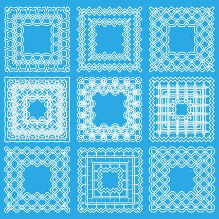 set square: set square ornament