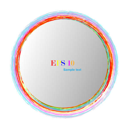 iridescent: Iridescent round logo