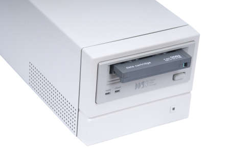 DDS3 Drive with cartridge unloaded Stock Photo
