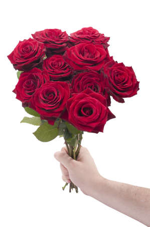 Red roses for you Stock Photo - 9360758