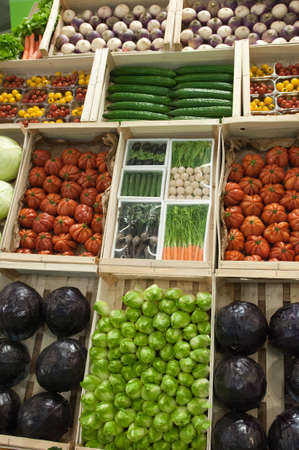 PARIS - FEBRUARY 26: The Paris International Agricultural Show 2012 -  vegetables