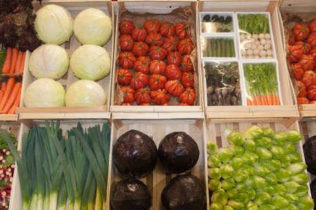 PARIS - FEBRUARY 26: The Paris International Agricultural Show 2012 -  vegetables (3)