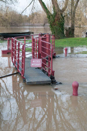 Access Forbidden   River Lock Under-flood