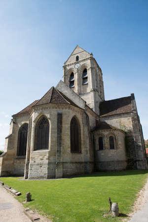 Church of Auvers-sur-Oise. Subject Of Vincent Van Gogh