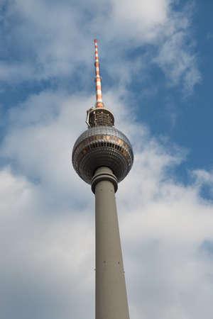 Fernsehturm of Berlin in Germany