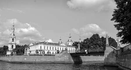 Russia, St. Petersburg Summer time scenic view Stock fotó - 123515519