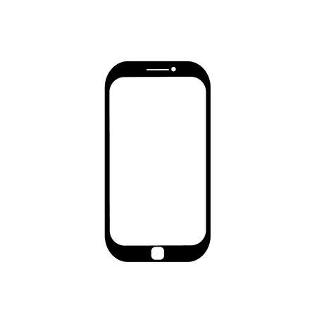 cellphone icon: Cellphone icon. Illustration