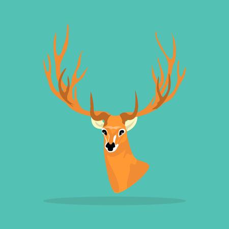 horny: Deer antler icon