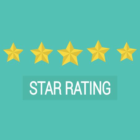 reviews: Review rating vector, customer reviews stars rate