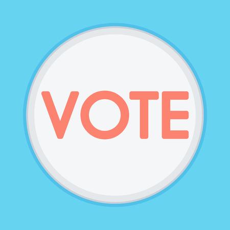 Vector of Voting Symbols. Voting concept illustration.