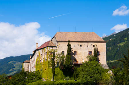 meran: Castle Scena Schloss Schenna is a wonderful castle in South Tyrol