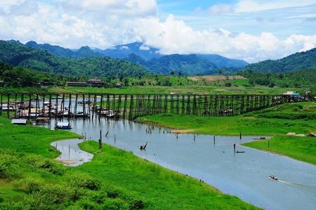 folkways: sangkhla buri Stock Photo