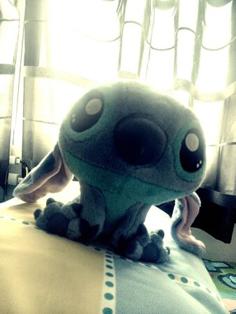 stitch: Wake up in the morning and you stitch.