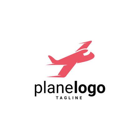 Airplane Logo Template Design Vector