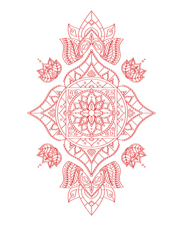 sahasrara: Root Mandala for Your Design.