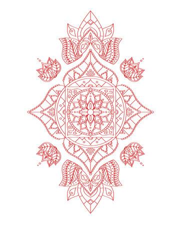 muladhara: Root Mandala for Your Design.