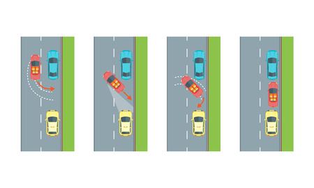 reverse: Car Reverse Parking Scheme