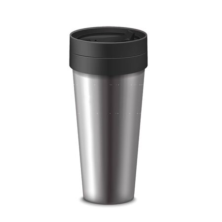 Realistic 3d Detailed Tumbler Cup. Vector
