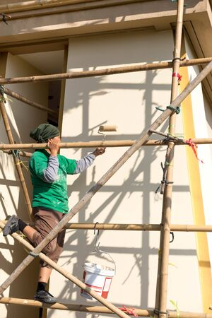 Bamboo Scaffold Images & Stock Pictures. Royalty Free Bamboo ...