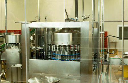 sterilized: Lactose Filling machine for bottle of milk in factory