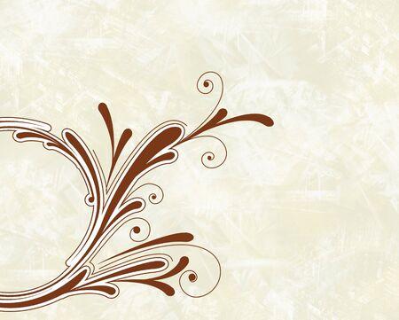 ornametal swirl Stock Photo - 2414499