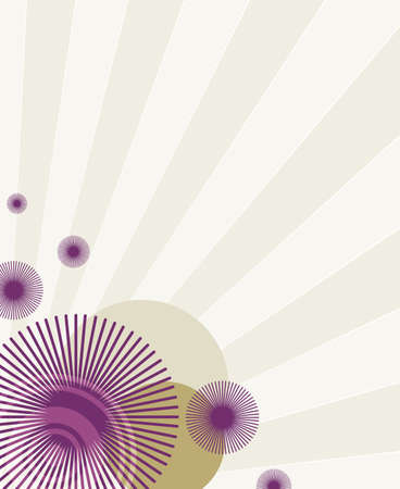 purple retro pattern Stock Photo