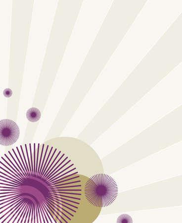 purple retro pattern Stock Photo - 2414504
