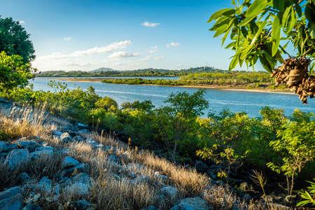 Pioneer river at sunset in Mackay, Queensland, Australia