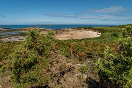 Callot island in Bretagne region in France Stok Fotoğraf