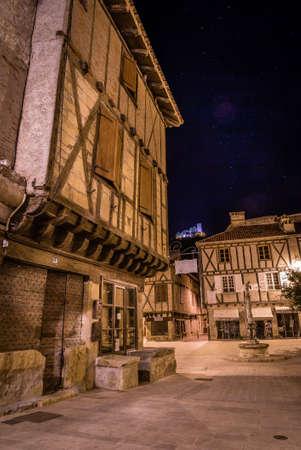 Saint Cere in Dordogne valley area in Lot, Occitanie, France