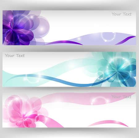 Heart background brochure template  Vector
