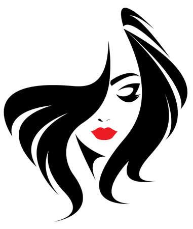 long hair model: long hair style icon