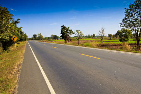 seson: Asphalt Road in Country
