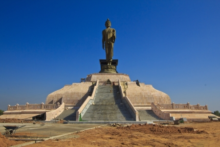 Buddha monument  Construction in Khon Kaen, Thailand Stock Photo - 16905455