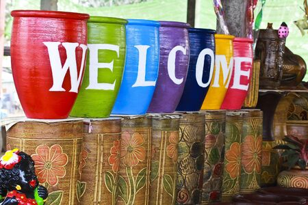 Colorful of the Welcome. photo