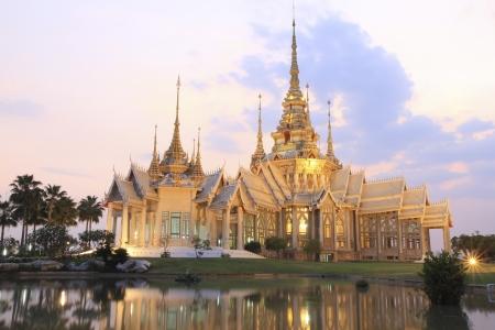 Thai temple in Korat province
