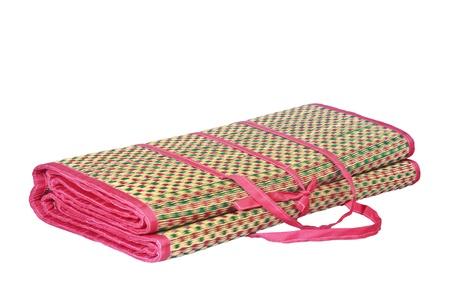 Draagbare mat geïsoleerd op wit Stockfoto - 18541009