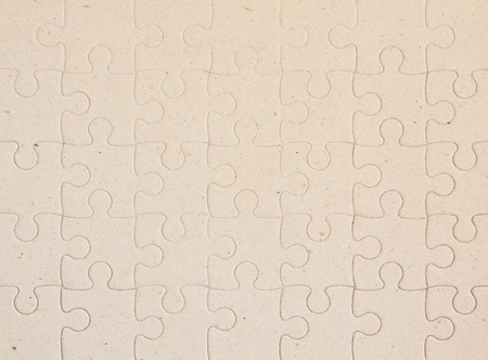 Jigsaw puzzle  Background or texture
