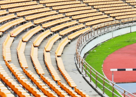 sequential: view of stadium and seat