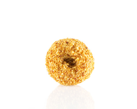 donut isolated on white background. photo