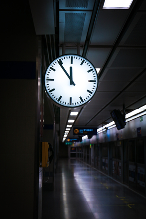 tardiness: Departure of a train from railway station.